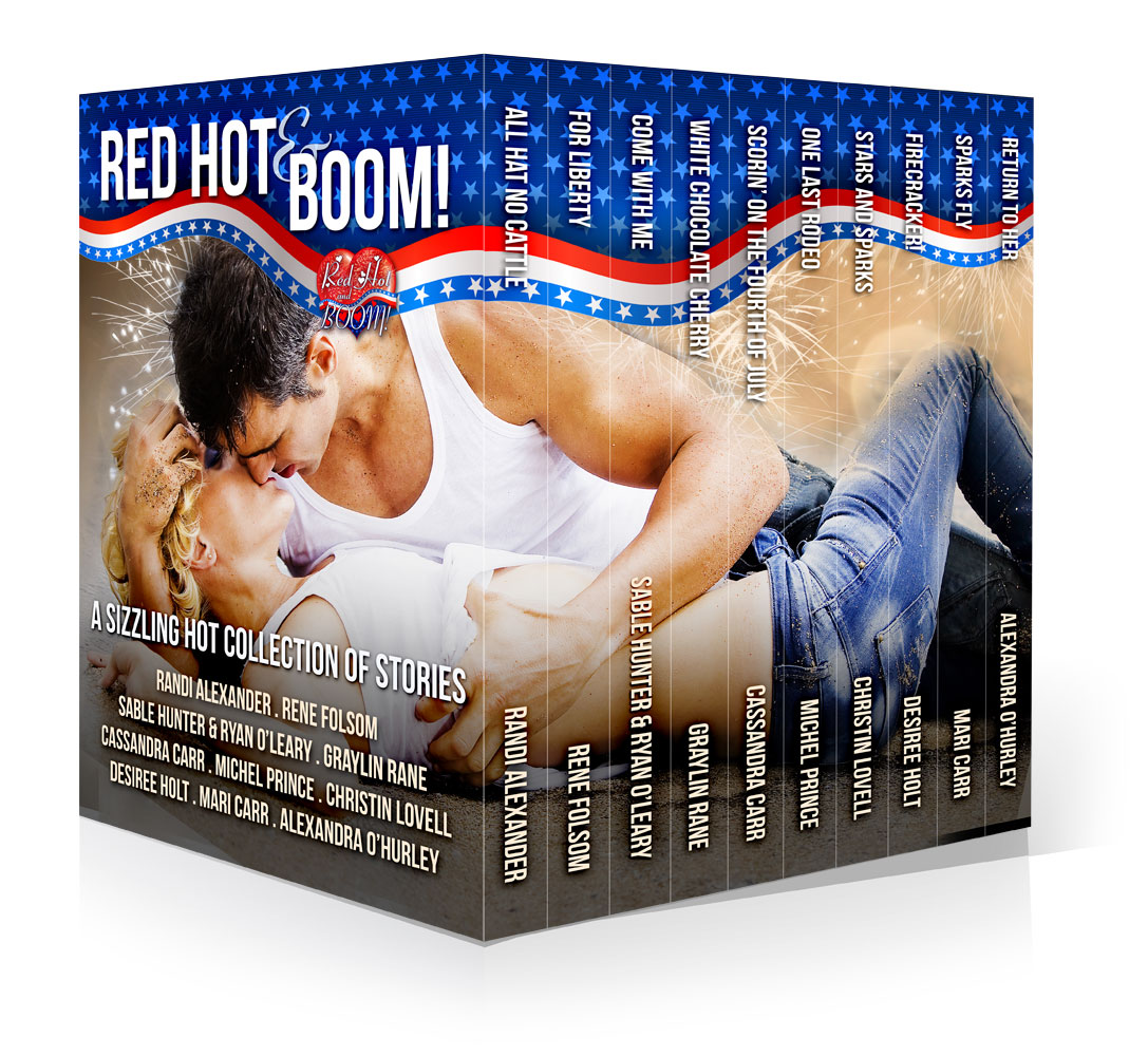 Red Hot and BOOM! A Sizzling Hot Collection of Stories from the Red Hot Authors