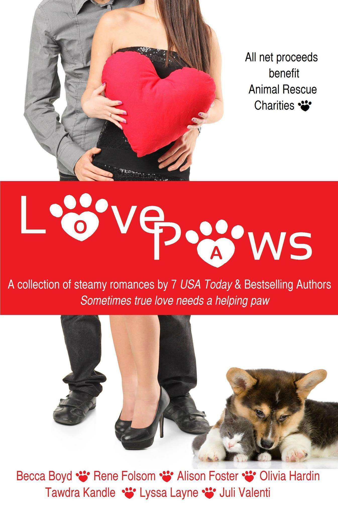 Love Paws: A Collection of Steamy Romances
